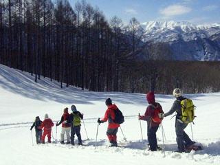 スノーシューハイク半日コース